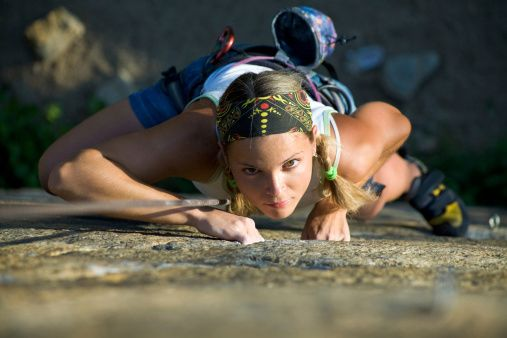 rock climbing builds more than arm strength - a great article on why rock climbing should be your next hobby!