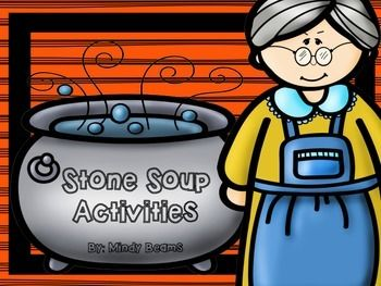 Stone Soup Activities-Interactive Book (16 pages)-ABC Order (to the second letter) w/Recording Sheet- Writing Word Cards (13 Cards)- Writing Sheet w/Drawing Area (Why was the stone important?)- Drawing Sheet - Draw what you would add to the soup- Stone Soup Scramble - Use the letters in stone soup to make new words- Stone Soup Matching - Matching the picture to the word**IMPORTANT - I included more vegetables on the writing word cards than in the book.