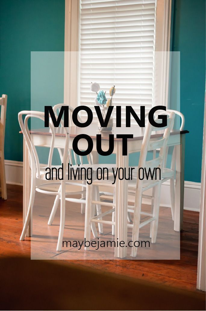 Ready to move out on your own? Before you move into that new apartment, I have some tips for you - from someone who's been there.