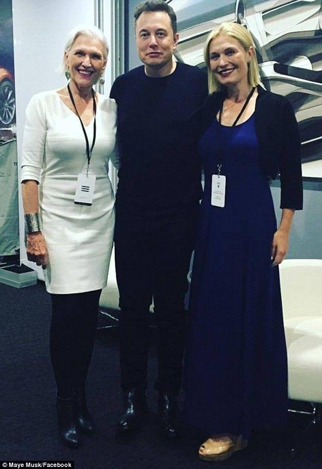 Maye, Elon and Tosca Musk   Celeb Candids   Elon musk, Tosca
