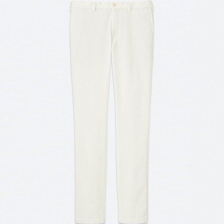 Uniqlo Men's Slim Fit Chino Flat Front Pants