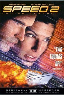 *SPEED 2: Cruise Control, (1997): A computer hacker breaks into the computer system of the Seabourn legend cruise liner + sets it speeding on a collision course into a gigantic oil tanker.   Starring:  Sandra Bullock, Jason Patric, Willem Dafoe