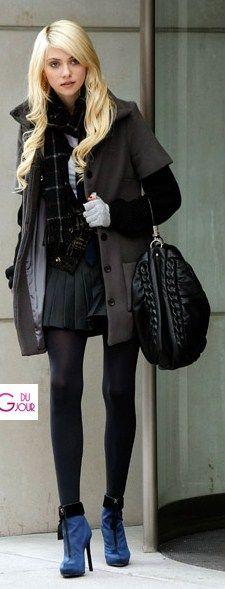 A Jennie Humphrey le gusta el diseño de ropa.