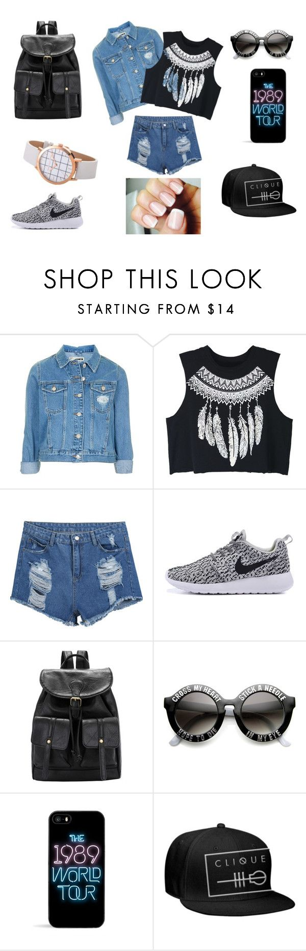 """"""")"""" by dragan-2001 on Polyvore featuring мода, Topshop и WithChic"""