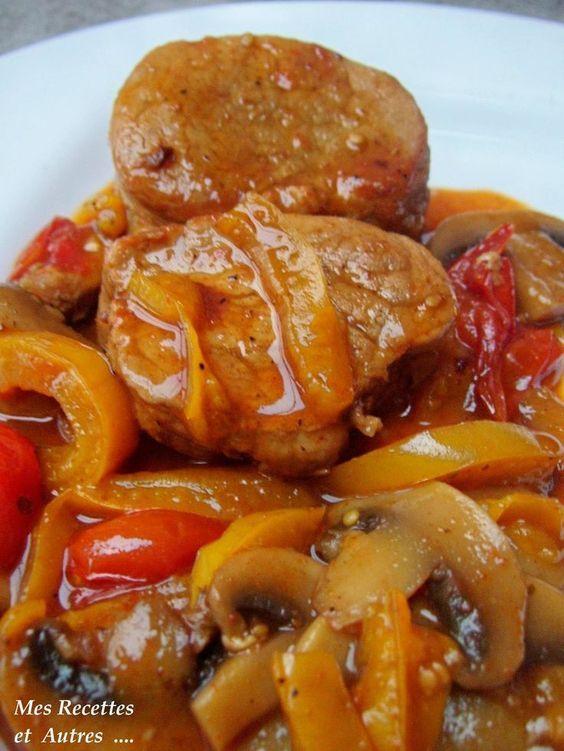Filet Mignon au Paprika