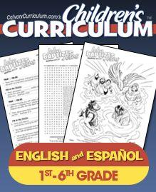 Calvary Chapel Childrens Curriculum