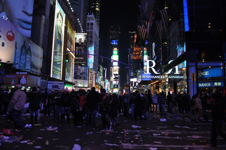 New Years Eve, New York City
