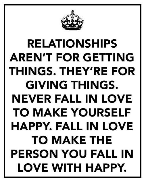 I always say this, but see so many in relationships just to have an easy life because they're to lazy to work on it, or too dumb to hold onto what they have been blessed with. With relationships and love, there is work involved. Give it all you've got, trust God & He will see you through & you'll both enjoy life to the fullest.