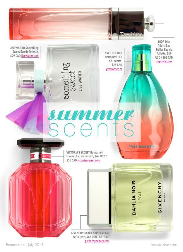 Beautezine | What's Hot: Summer Scents