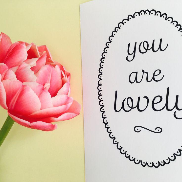 Liefsdeskaart Kaart Liefde Kaart Valentijn Vriendschap Kaart Compliment Kaart Cadeau Kaart Wenskaart Kaart Voor Vriendin