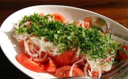 Ensalada chilena Chilean salad