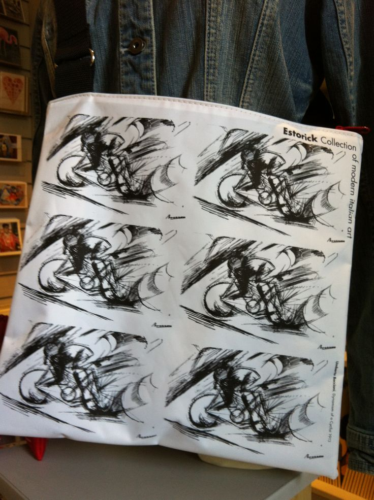 A #bag we sell in our bookshop inspired by our permanent collection #Boccioni #Futurism