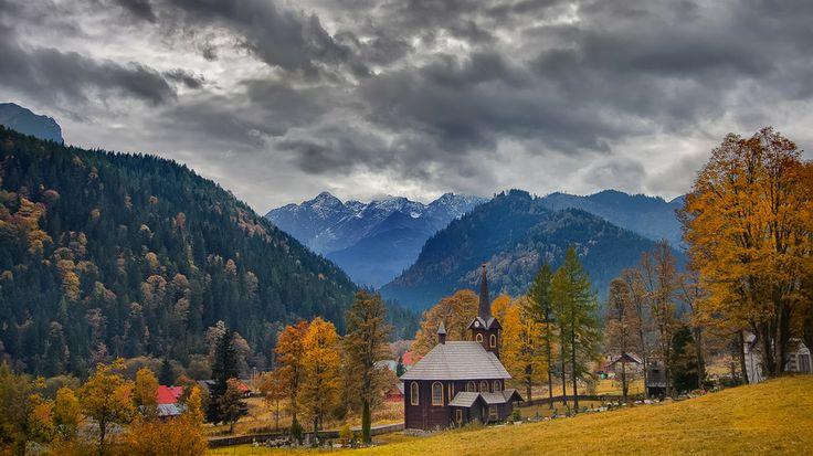 Valley by Belianske Tatry on 500px