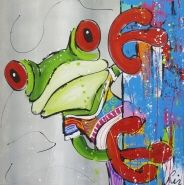 colorfull frog