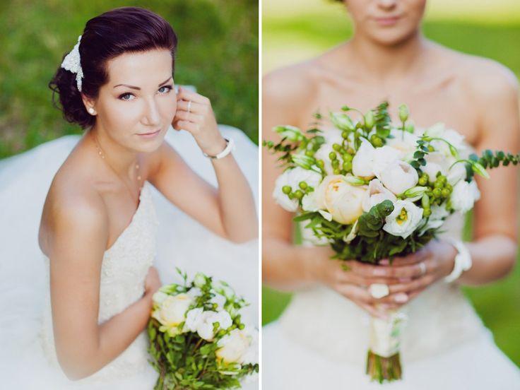 bouquet with peonies букет невесты с пионами