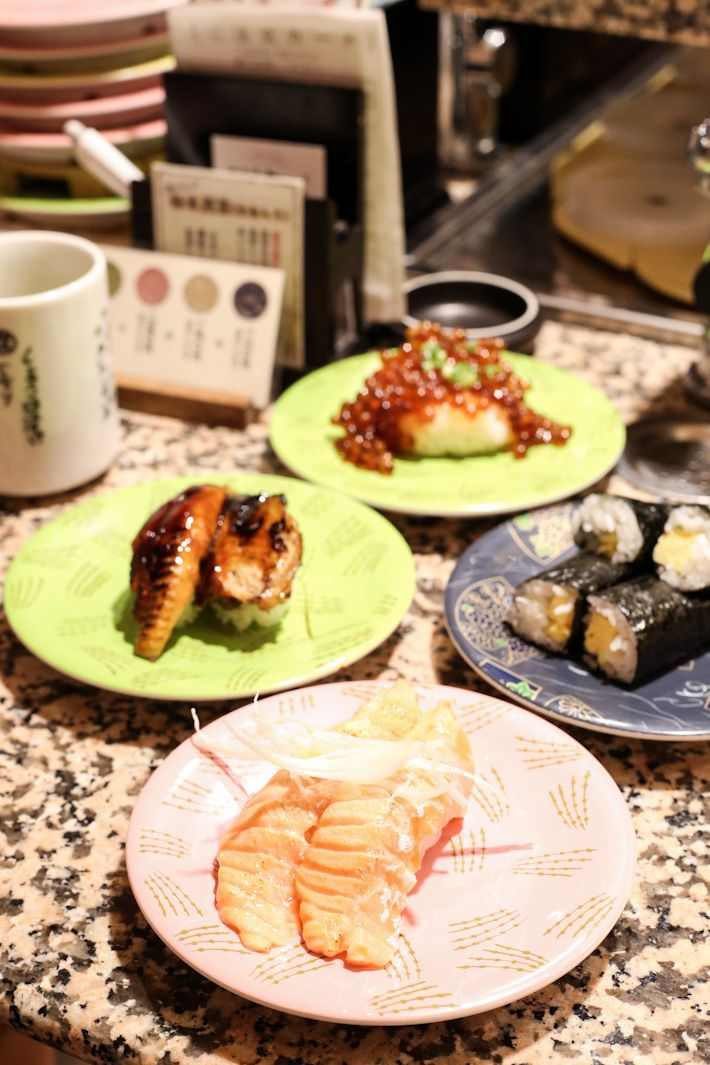 ✖ Nemuro Hanamaru serves fresh sushi at great value. Most of the sushi plates are priced between ¥136 to ¥336. One of our favourites was the Seared Salmon (¥262). From the side menu, the Crab Soup (¥336) – with huge chunks of crab meat – and the Chawanmushi (¥262) are also excellent choices. Nemuro Hanamaru is listed in our guide to Tokyo's affordable sushi restaurants. Tokyo KITTE 5F 2-7-2 Marunouchi, Chiyoda-ku Tel: +81 03 6269 9026 Mon to Sat: 11am – 11pm Nearest Station: Tokyo Japan