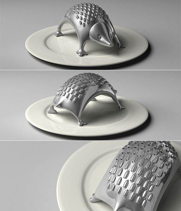 hedgehog grater