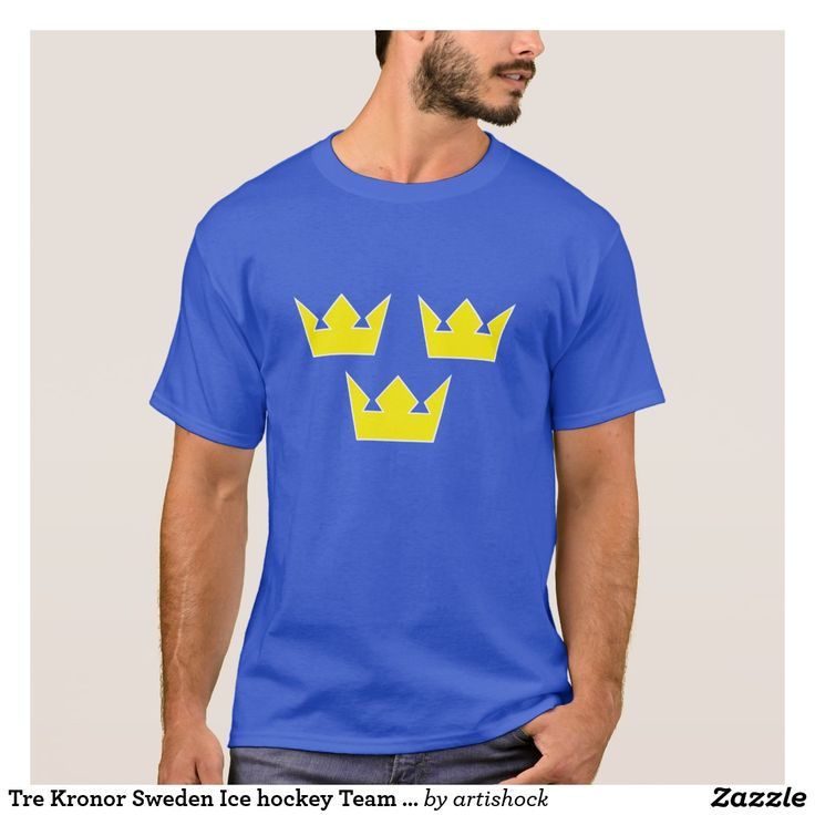 Tre Kronor Sweden Ice hockey Team 3 Crowns Olympic T-Shirt