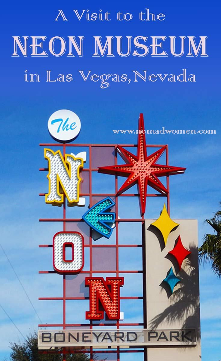 A visit to the Neon Museum and Boneyard, in Las Vegas, Nevada, is a gift of memory for older travelers--Baby Boomers and beyond. It's one of the most fun things to do in Las Vegas. #NeonMuseum #LasVegas #tbin #USATravels