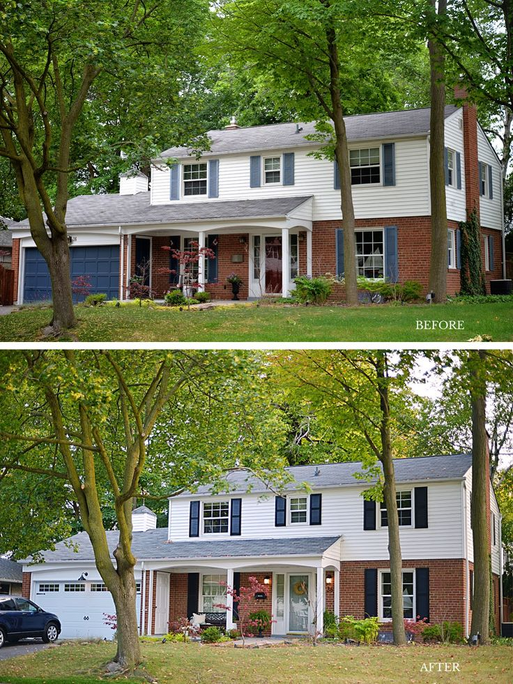 Best 25 Colonial House Exteriors Ideas On Pinterest Colonial House Remodel House Exteriors