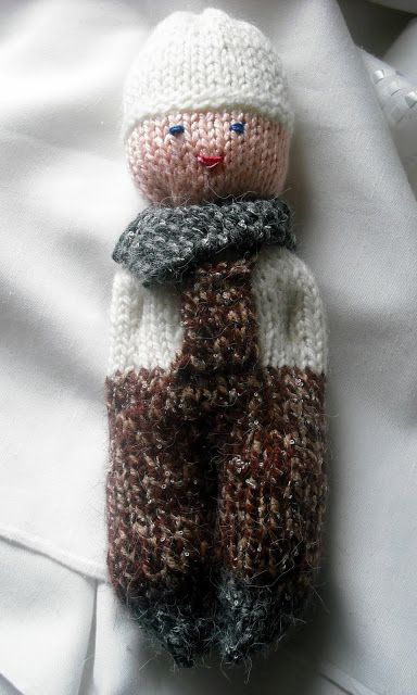 Bonhomme au tricot