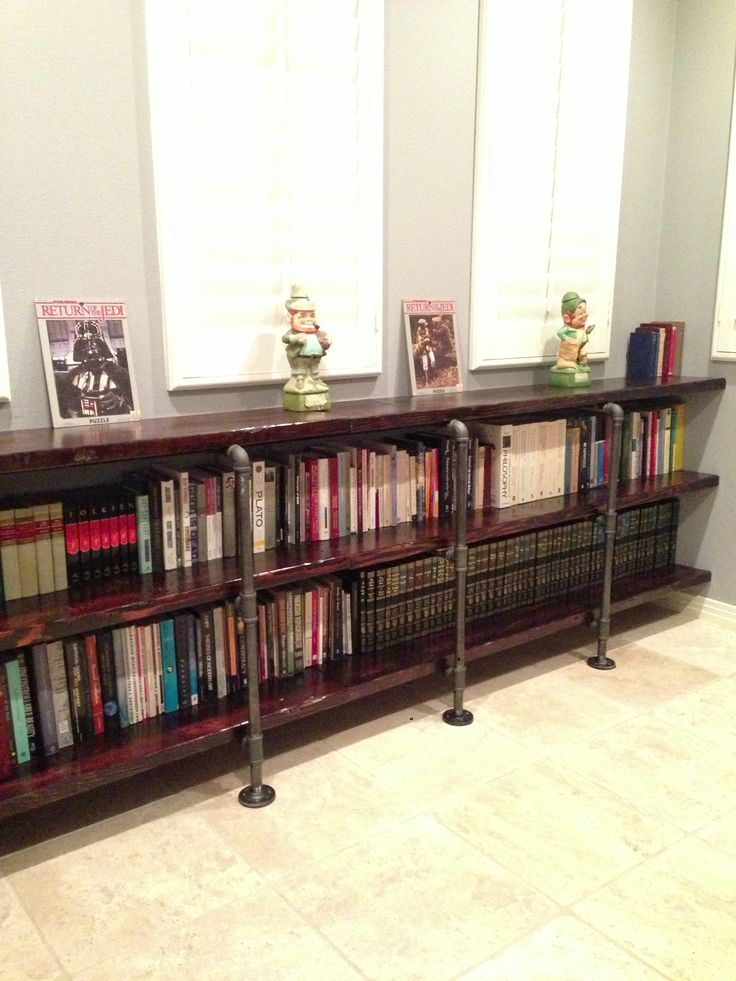 Best 25+ Pipe bookshelf ideas on Pinterest   Diy ...