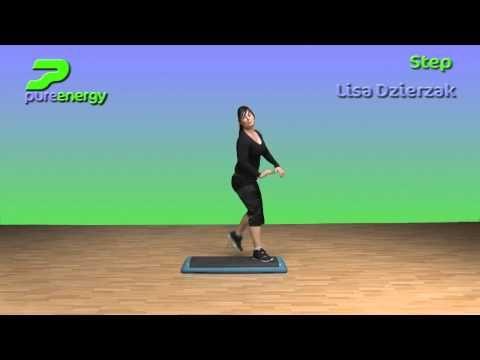 Step Aerobics Choreography Ideas with Lisa Dzierzak
