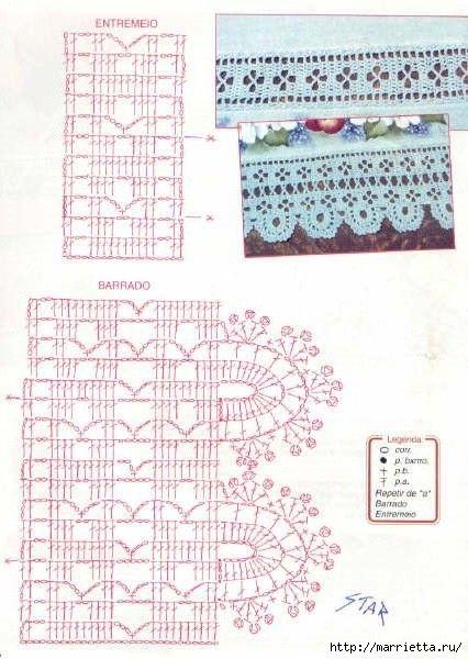 Crochet Vintage. Muchas de las ideas de época con diagramas. Hable con LiveInternet - Servicio rusos Diarios Online