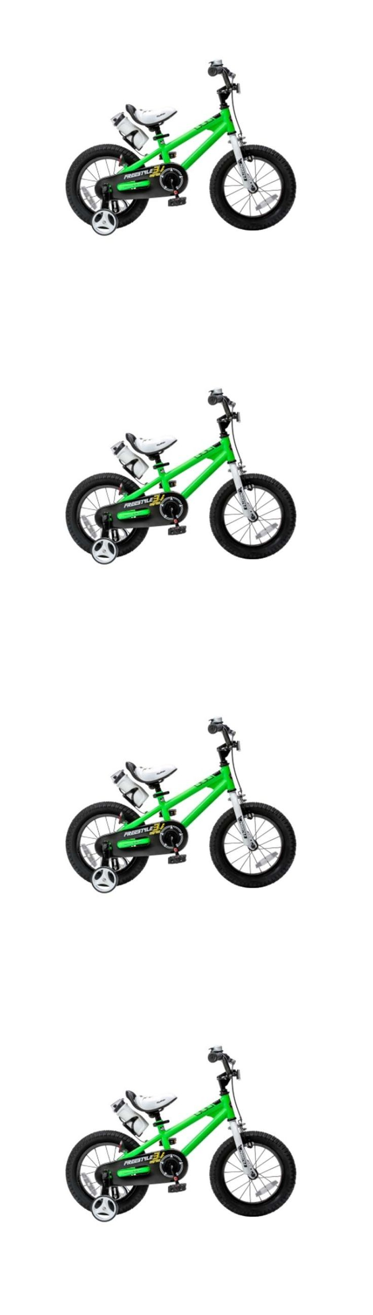 Training Wheels 177839: Bmx Bicycle For Kids Freestyle Bike With Training Wheels 14 Green Fun Rider -> BUY IT NOW ONLY: $135.4 on eBay!