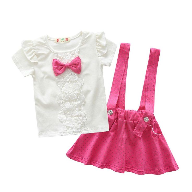 BibiCola  fashion toddler baby girls summer clothing sets bow 2pcs girls summer clothes set kids sport suit set tracksuit set