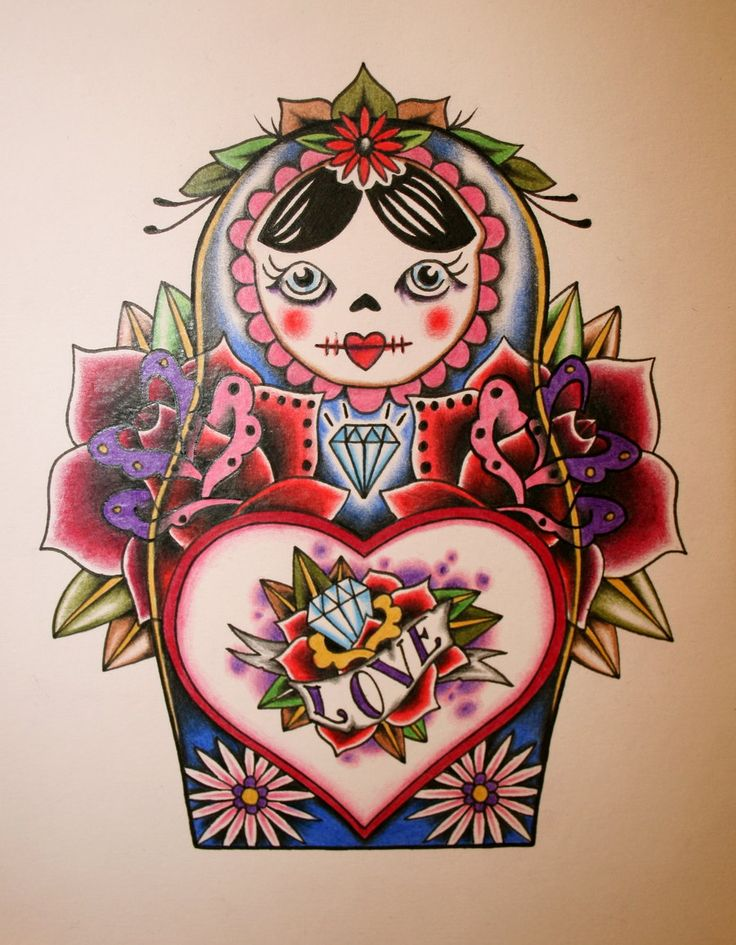 Russian Doll by itchysack.deviantart.com