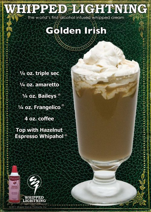 Golden Irish - have to try this! And put it in your Irish mugs!! @Leigh Iverson