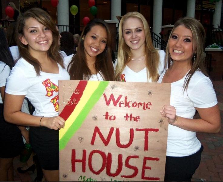 GO NUTS. Go Alpha Gam. Cute Bid Day Sign!Alpha Gamma Delta, Alpha Glamorous, Agd 3, Nut House'S But, Alpha Epsilon, Bid, Agd Nut, Agd Forever, Alpha Gamme
