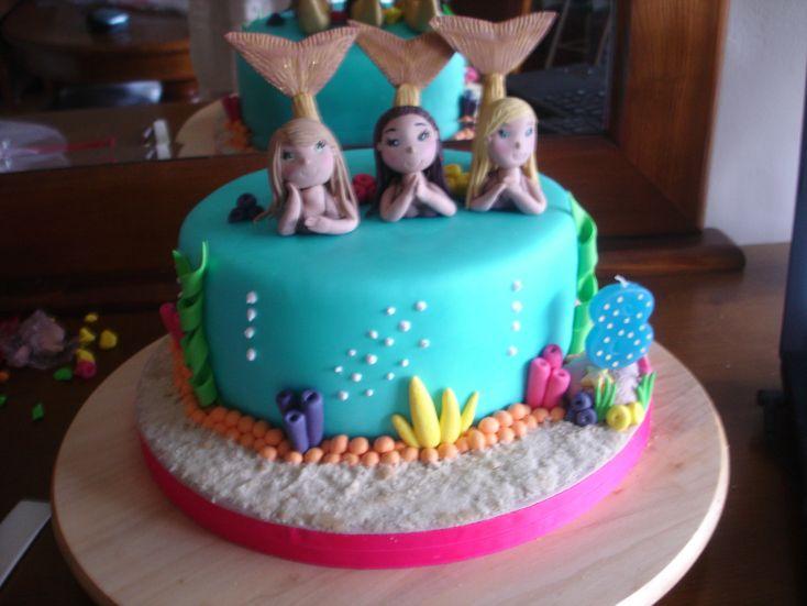 Cake Sereias H2O