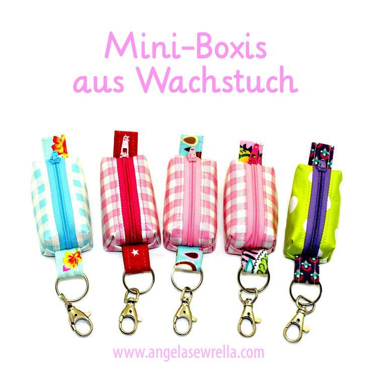 """Angela Sewrella: Meine """"Mini-Boxis"""" aus Wachstuch"""