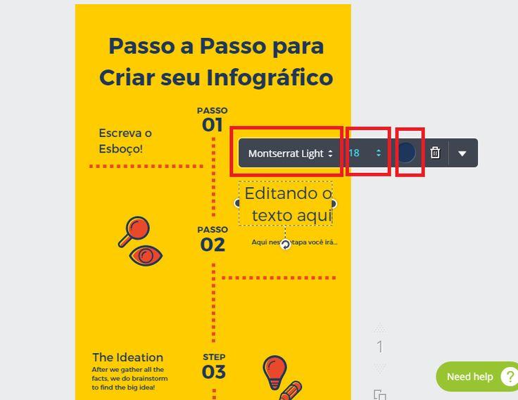 tutorial infografico no canva