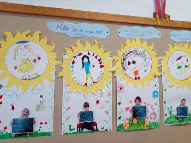 Hora de Brincar e de Aprender: Mãe, és o sol da minha vidafoi o mote deste ano pa...