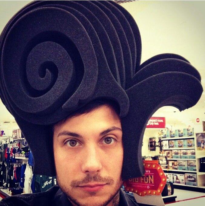 Frank Iero, via his Instagram, 2013 | Frank Iero ...  Frank Iero, via...