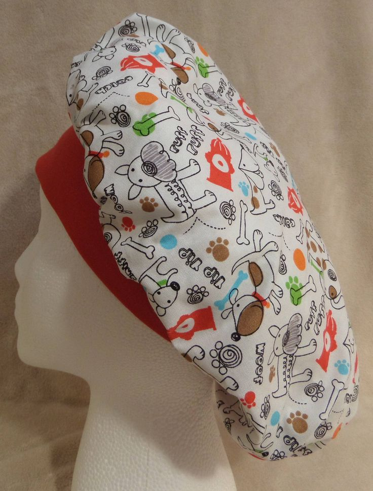 Excited to share the latest addition to my #etsy shop: Bouffant Scrub Hat, Surgical Scrub Hat, OR Hat, Operating Room Hat, Veterinarian Scrub Hat