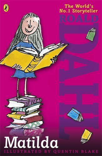 Matilda by Roald Dahl http://www.amazon.co.uk/dp/0141346345/ref=cm_sw_r_pi_dp_nSeIwb0DF1ERC