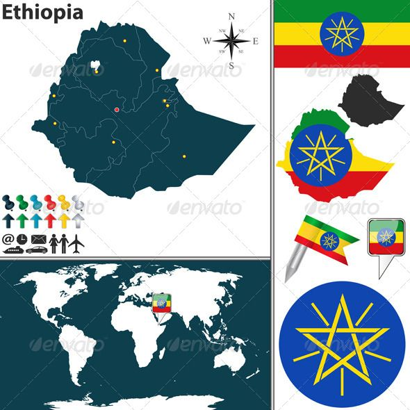 Realistic Graphic DOWNLOAD (.ai, .psd) :: http://jquery.re/pinterest-itmid-1008061761i.html ... Map of Ethiopia ...  Addis Ababa, Ethiopian, administrative, africa, african, borders, boundary, button, country, divisions, ethiopia, flag, icon, land, map, national, official, regions, shape, sign, silhouette, symbol, template, travel, vector  ... Realistic Photo Graphic Print Obejct Business Web Elements Illustration Design Templates ... DOWNLOAD…