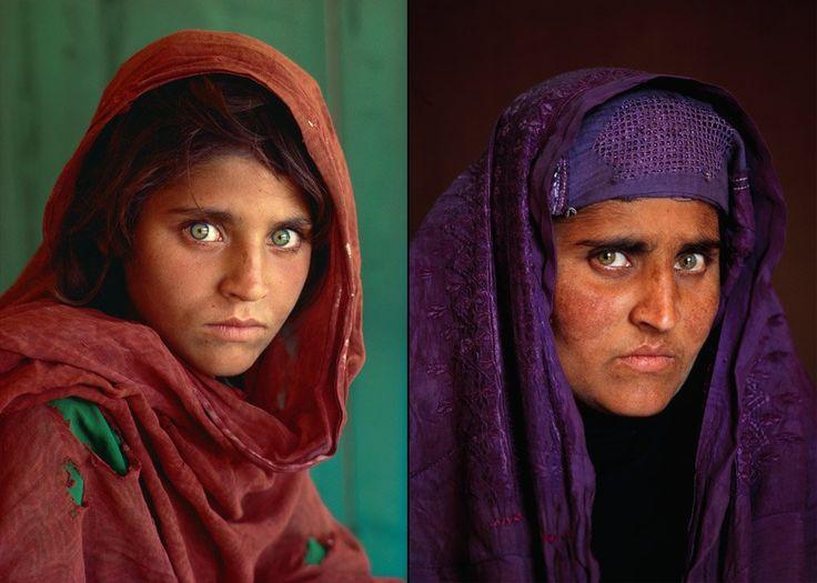 Fotoğrafıyla meşhur Afgan kızı tutuklandı