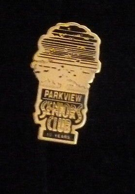Parkview Seniors Club 10 Years Pin