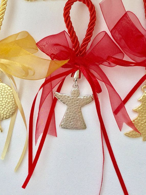 Angel Christmas angel small gift lucky charm by hippiefishbeachart