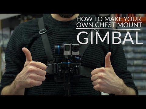 Attaching Feiyu G4 Gimbal to GoPro chest mount - YouTube #diy #gimbal #gimbalchestmount