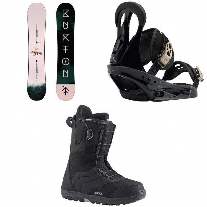 4a0a5b9dc94 Burton - Yeasayer Snowboard - Women s + Burton Citizen Snowboard Bindings -  Women s + Burton Mint Snowboard Boots - Women s 2019  WinterFun