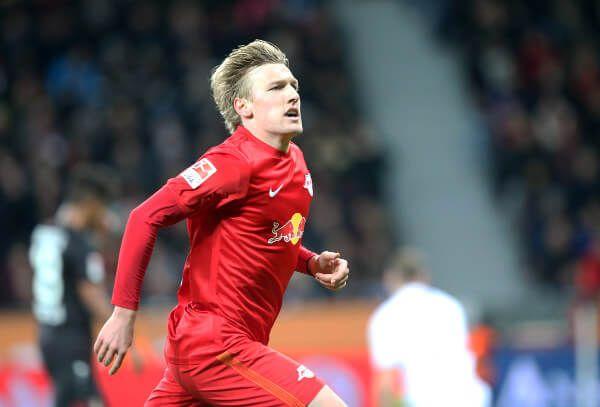 """RB Leipzig als """"Bayern-Jäger"""" Spitzenreiter nach Sieg bei Bayer 04 Leverkusen. """"Bayern-Jäger"""" RB Leipzig wird als Aufsteiger der Fußball-Bundesli ..."""