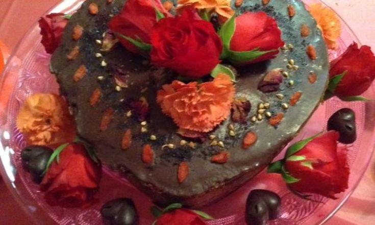 Celebration Five Layer Rose Cake