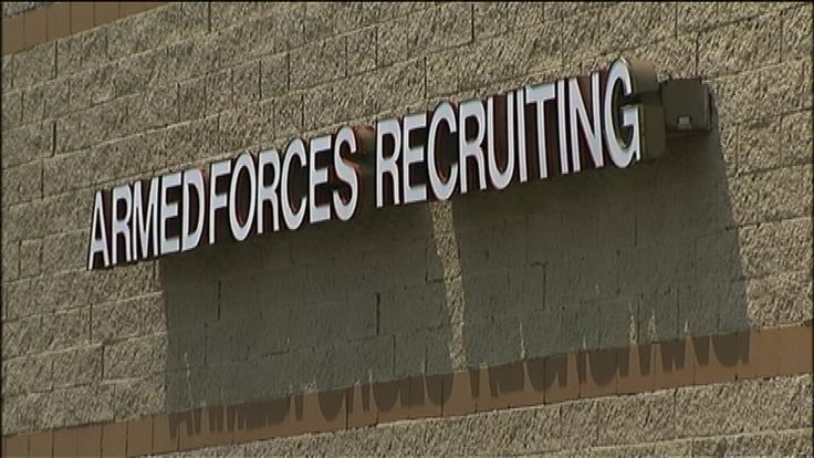 Accidental shooting at Navy recruiting center
