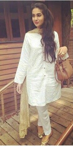Pakistani casual done perfectly. Outfit by Generation.